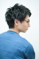 【頭皮改善!】スタイリストカット+ヘッドスパ20分+シャンプー¥4800