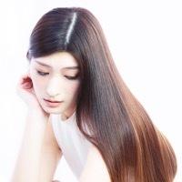 【自然な丸みのストレート】カット+縮毛矯正ナチュラル