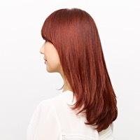 【根元から毛先まで綺麗に染めたい】カット+カラー